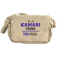 It's KAMARI thing, you wouldn't unde Messenger Bag