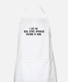 Left my Real Estate Appraiser BBQ Apron