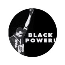"Black Power! 3.5"" Button"