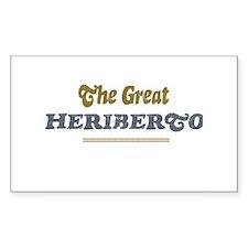 Heriberto Rectangle Decal