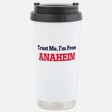 Trust Me, I'm from Anah Stainless Steel Travel Mug