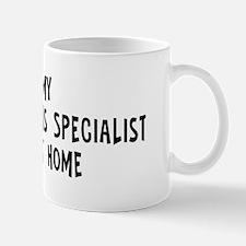Left my Public Relations Spec Mug