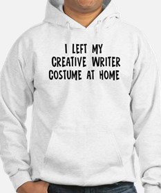 Left my Creative Writer Hoodie
