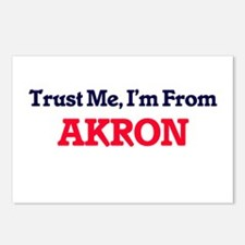 Trust Me, I'm from Akron Postcards (Package of 8)