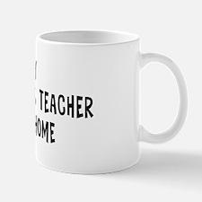 Left my Museum Studies Teache Mug