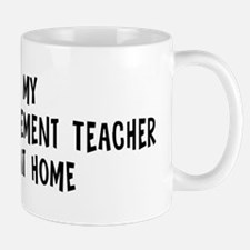 Left my Project Management Te Mug