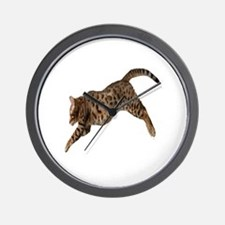 Unique Cat golf Wall Clock