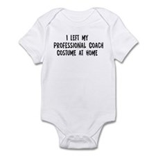 Left my Professional Coach Infant Bodysuit