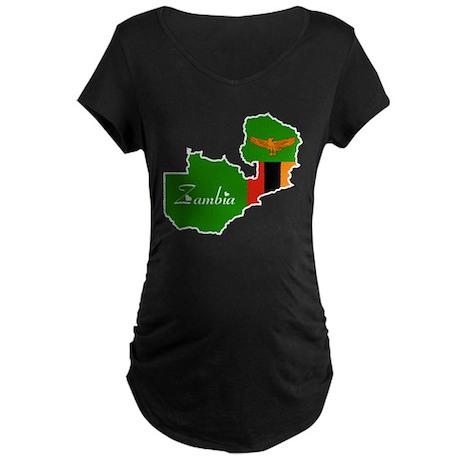 Cool Zambia Maternity Dark T-Shirt