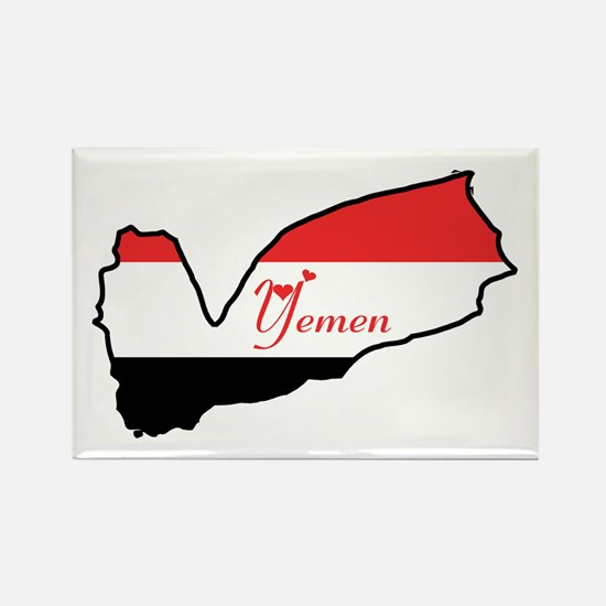 Cool Yemen Rectangle Magnet