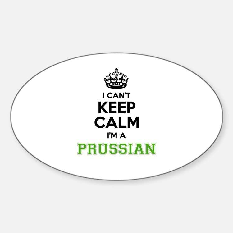 Prussian I cant keeep calm Decal