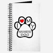 I Love My Havanese Dog Journal