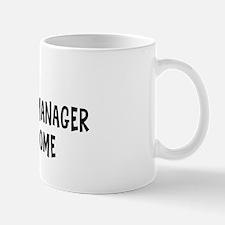 Left my Construction Manager Mug