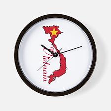 Cool Vietnam Wall Clock