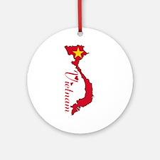 Cool Vietnam Ornament (Round)