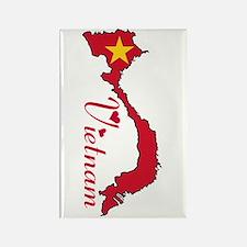 Cool Vietnam Rectangle Magnet