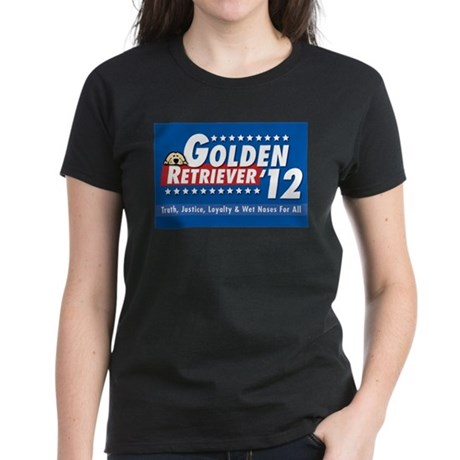 Golden for President Women's Dark T-Shirt