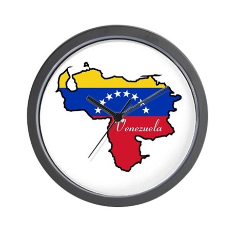 Cool Venezuela Wall Clock By Worldonashirt