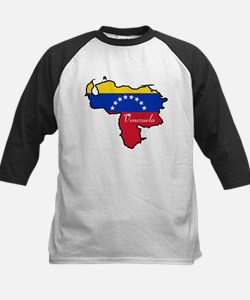 Cool Venezuela Kids Baseball Jersey