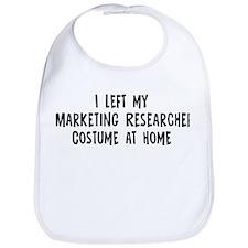 Left my Marketing Researcher Bib