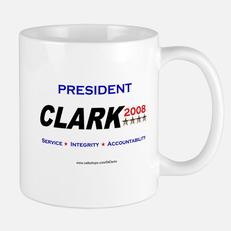 """President Clark"" Small Small Mug"