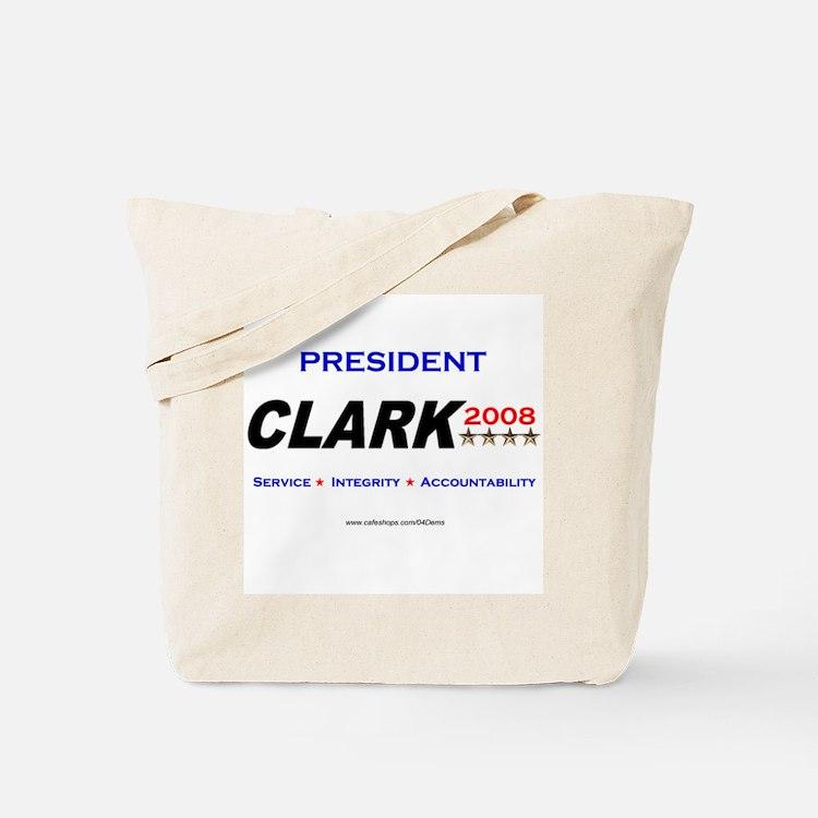 """""""President Clark"""" Tote Bag"""