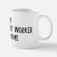 Left my Animal Husbandry Work Mug