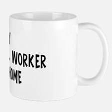 Left my Animal Control Worker Mug