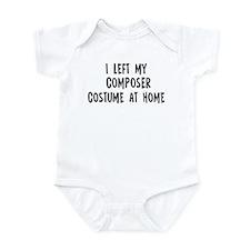 Left my Composer Infant Bodysuit