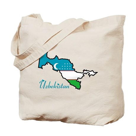 Cool Uzbekistan Tote Bag