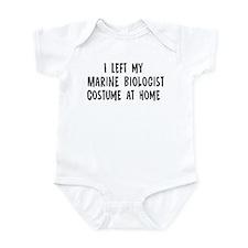 Left my Marine Biologist Infant Bodysuit