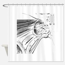 Funny Tate Shower Curtain