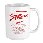 Stress Management technique Large Mug