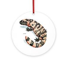 Gila Monster Lizard Keepsake (Round)