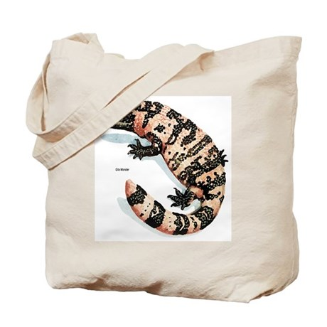 Gila Monster Lizard Tote Bag