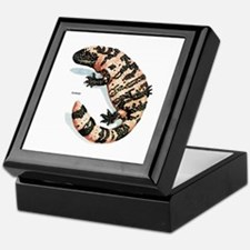 Gila Monster Lizard Keepsake Box
