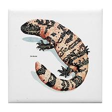 Gila Monster Lizard Tile Coaster