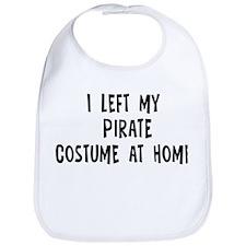 Left my Pirate Bib