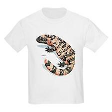Gila Monster Lizard (Front) Kids T-Shirt