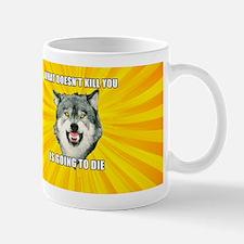 Courage Wolf Mugs