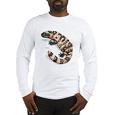 Gila Monster Lizard (Front) Long Sleeve T-Shirt