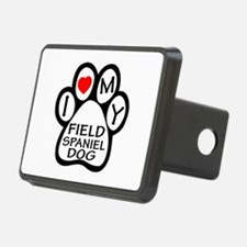 I Love My Field Spaniel Do Hitch Cover