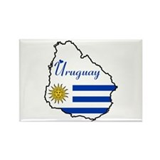 Cool Uruguay Rectangle Magnet