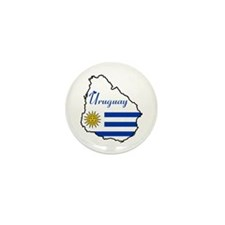 Cool Uruguay Mini Button (10 pack)