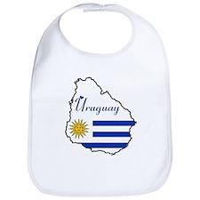 Cool Uruguay Bib