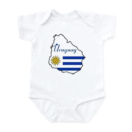 Cool Uruguay Infant Bodysuit