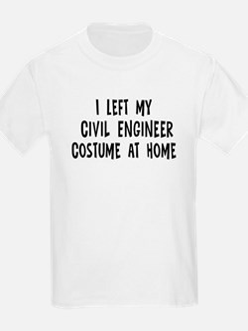 Left my Civil Engineer T-Shirt
