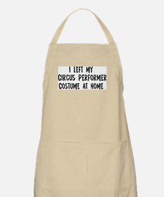Left my Circus Performer BBQ Apron