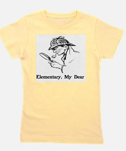 Unique Sherlock holmes Girl's Tee