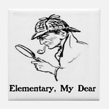 Unique Elementary Tile Coaster